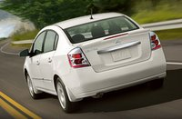 2011 Nissan Sentra, back view, exterior, manufacturer, gallery_worthy