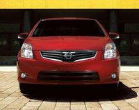 2011 Nissan Sentra, front view , exterior, manufacturer