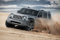 2011 Jeep Liberty, front three quarter view , manufacturer, exterior