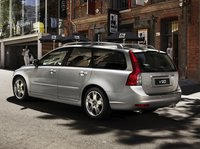 2011 Volvo V50, back three quarter view , exterior, manufacturer