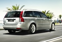 2011 Volvo V50, back three quarter view , manufacturer, exterior