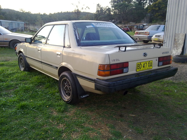 Picture of 1986 Subaru Leone