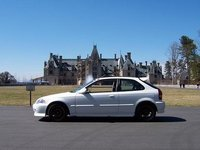 Picture of 2000 Honda Civic DX Hatchback, exterior, gallery_worthy