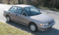 1995 Mitsubishi Mirage S, not my original, exterior