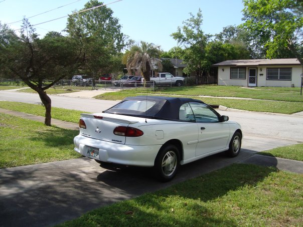 1995 Chevrolet Cavalier LS Convertible, 1995 Chevrolet Cavalier 2 Dr ...