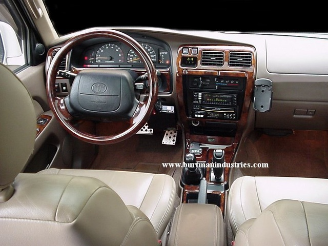 Charming Picture Of 1999 Toyota 4Runner 4 Dr Limited 4WD SUV, Interior,  Gallery_worthy
