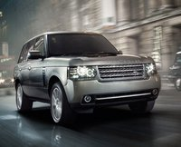 2011 Land Rover Range Rover, front three quarter view , manufacturer, exterior