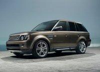 2011 Land Rover Range Rover Sport, front three quarter view , exterior, manufacturer