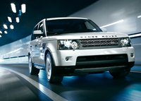 2011 Land Rover Range Rover Sport, front three quarter view , exterior, manufacturer