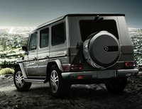 2011 Mercedes-Benz G-Class, back three quarter view , exterior, manufacturer