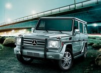 2011 Mercedes-Benz G-Class, front three quarter view , manufacturer, exterior