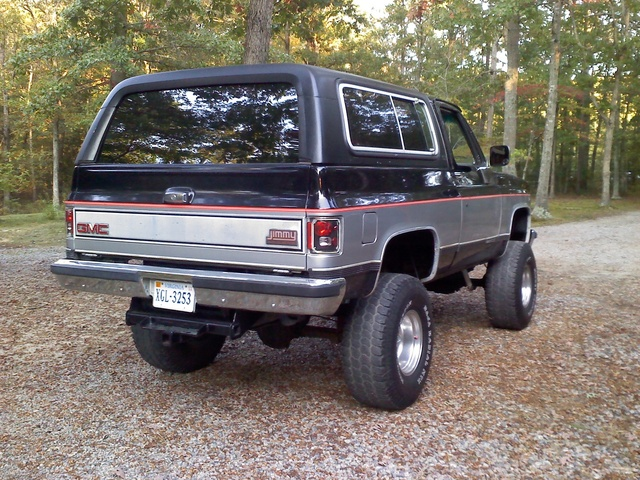 1983 Gmc Jimmy Pictures Cargurus