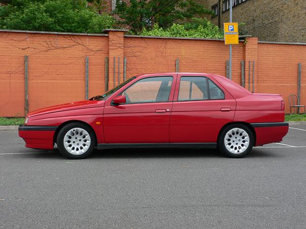 Picture of 1996 Alfa Romeo 155, exterior