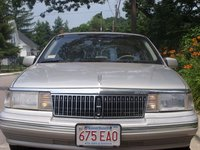 Picture of 1990 Lincoln Continental 4 Dr STD Sedan, exterior