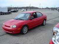 1995 Dodge Neon 4 Dr Sport Sedan, Look at those slicks!!!, exterior