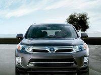 2011 Toyota Highlander Hybrid, front view , exterior, manufacturer