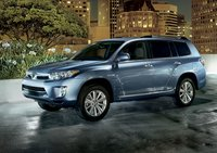 2011 Toyota Highlander Hybrid, front three quarter view , exterior, manufacturer