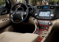 2011 Toyota Highlander Limited, dashboard, interior, manufacturer