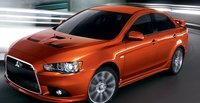 2011 Mitsubishi Lancer, front three quarter view , exterior, manufacturer