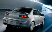 2011 Mitsubishi Lancer, back three quarter view , manufacturer, exterior