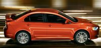 2011 Mitsubishi Lancer, side view , manufacturer, exterior
