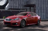 2011 Lexus IS F, front three quarter view , manufacturer, exterior