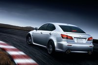 2011 Lexus IS F, back three quarter view , exterior, manufacturer, gallery_worthy