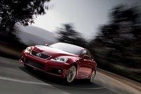 2011 Lexus IS F, front three quarter view , exterior, manufacturer
