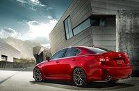 2011 Lexus IS F, back three quarter view , exterior, manufacturer