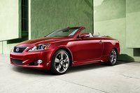 2011 Lexus IS C, front three quarter view , manufacturer, exterior
