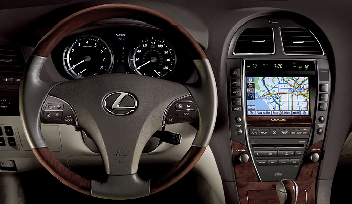 2010 lexus es 350 interior photos