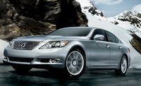 2011 Lexus LS 460, front three quarter view , exterior, manufacturer