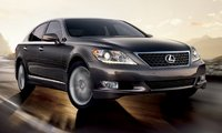 2011 Lexus LS 460, front three quarter view , manufacturer, exterior