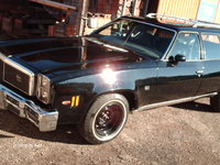 1976 Chevrolet Chevelle, with 8x15 rallye wheels, exterior