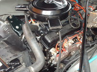 1976 Chevrolet Chevelle, 350 4bbl , engine