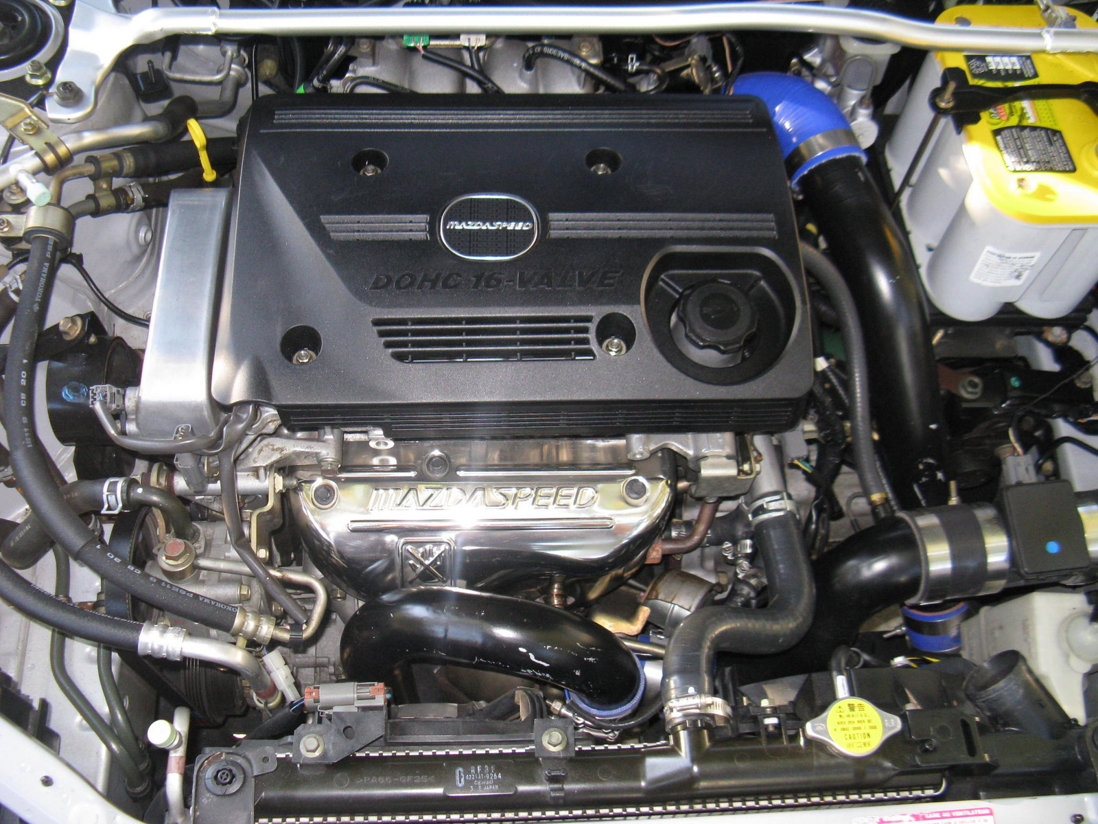 Picture of 2003 Mazda MAZDASPEED Protege 4 Dr Turbo Sedan (2003.5 ...