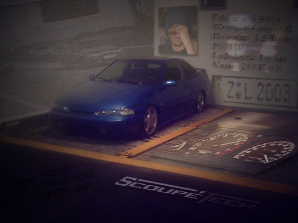 Picture of 1995 Hyundai Scoupe 2 Dr Turbo Coupe
