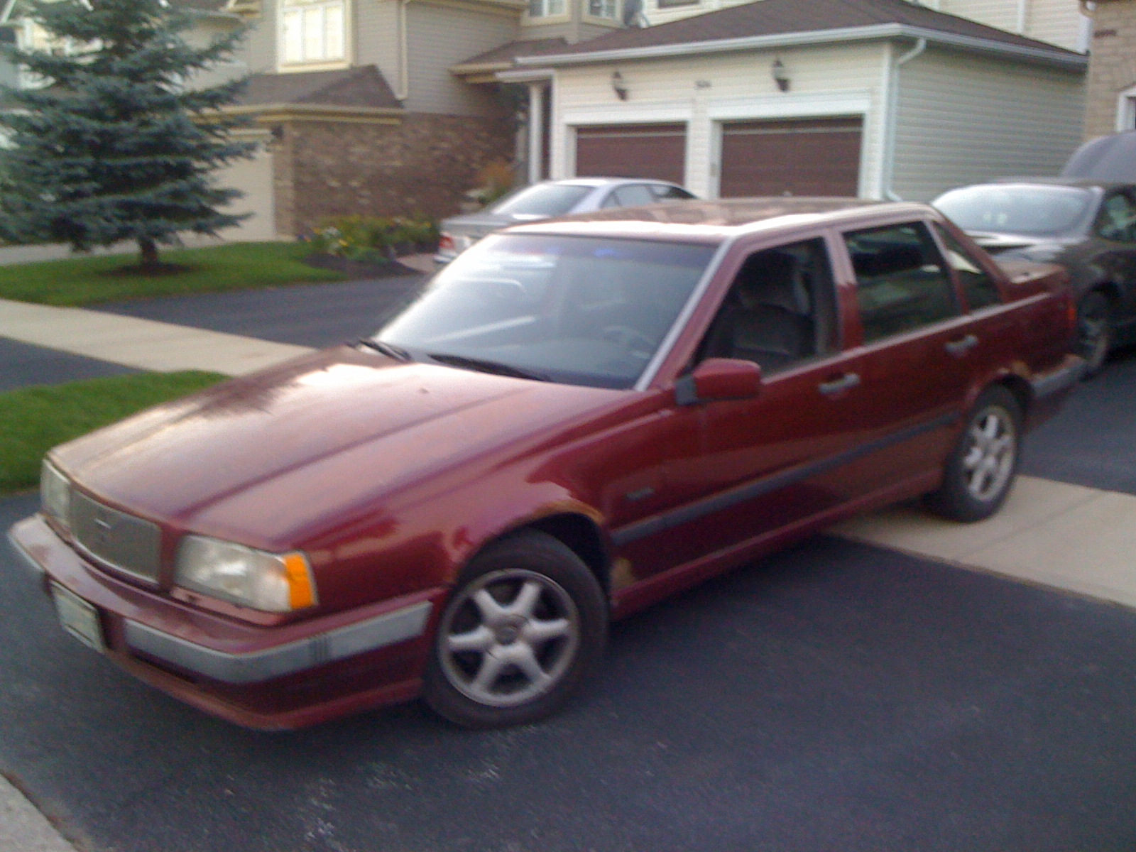 picture of 1994 volvo 850 4 dr glt sedan. Black Bedroom Furniture Sets. Home Design Ideas