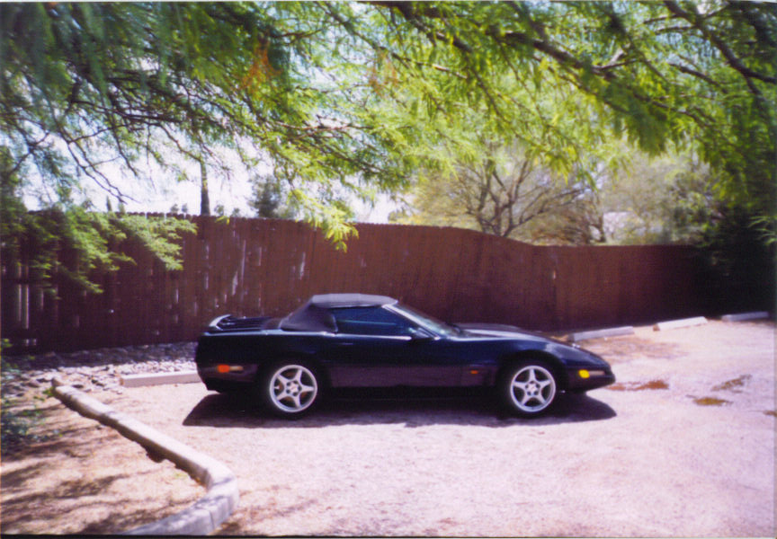 1996 Chevrolet Corvette Convertible, 1996 Chevrolet Corvette 2 Dr STD Convertible picture, exterior