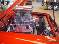1961 Chevrolet Bel Air picture, engine