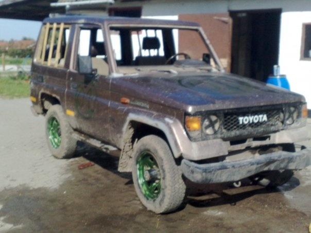 1987 Toyota Land Cruiser, det nye look, er den ikke sej? (efter), exterior