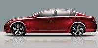 2011 Lexus GS 350, Exterior Side View. , exterior, manufacturer