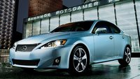 2011 Lexus IS 350, Lexus IS 350; front three quarter view. , exterior, manufacturer