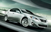 2011 Lexus IS 350, Front three quarter view in motion., exterior, manufacturer