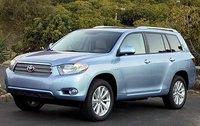 2011 Toyota Highlander Hybrid, Front Left Quarter View, exterior, manufacturer