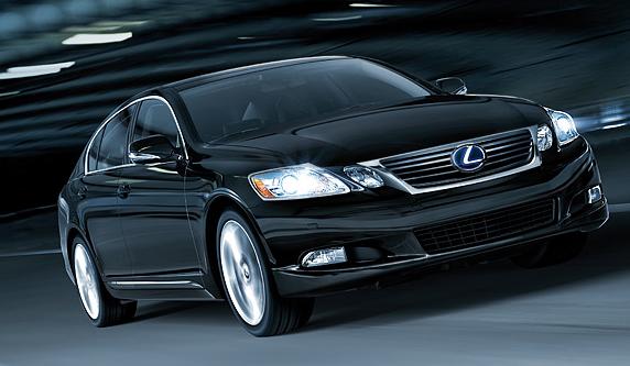 2011 Lexus GS 450h.