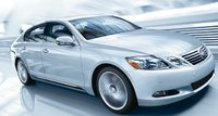 2011 Lexus GS 450h, Three quarter view in motion., exterior, manufacturer