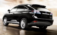 2011 Lexus RX 450h, Rear and side view. , exterior, manufacturer