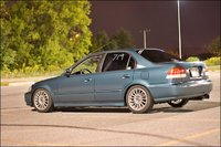 1997 Honda Civic LX, No front or rear lip.. will be back on soon..!, exterior