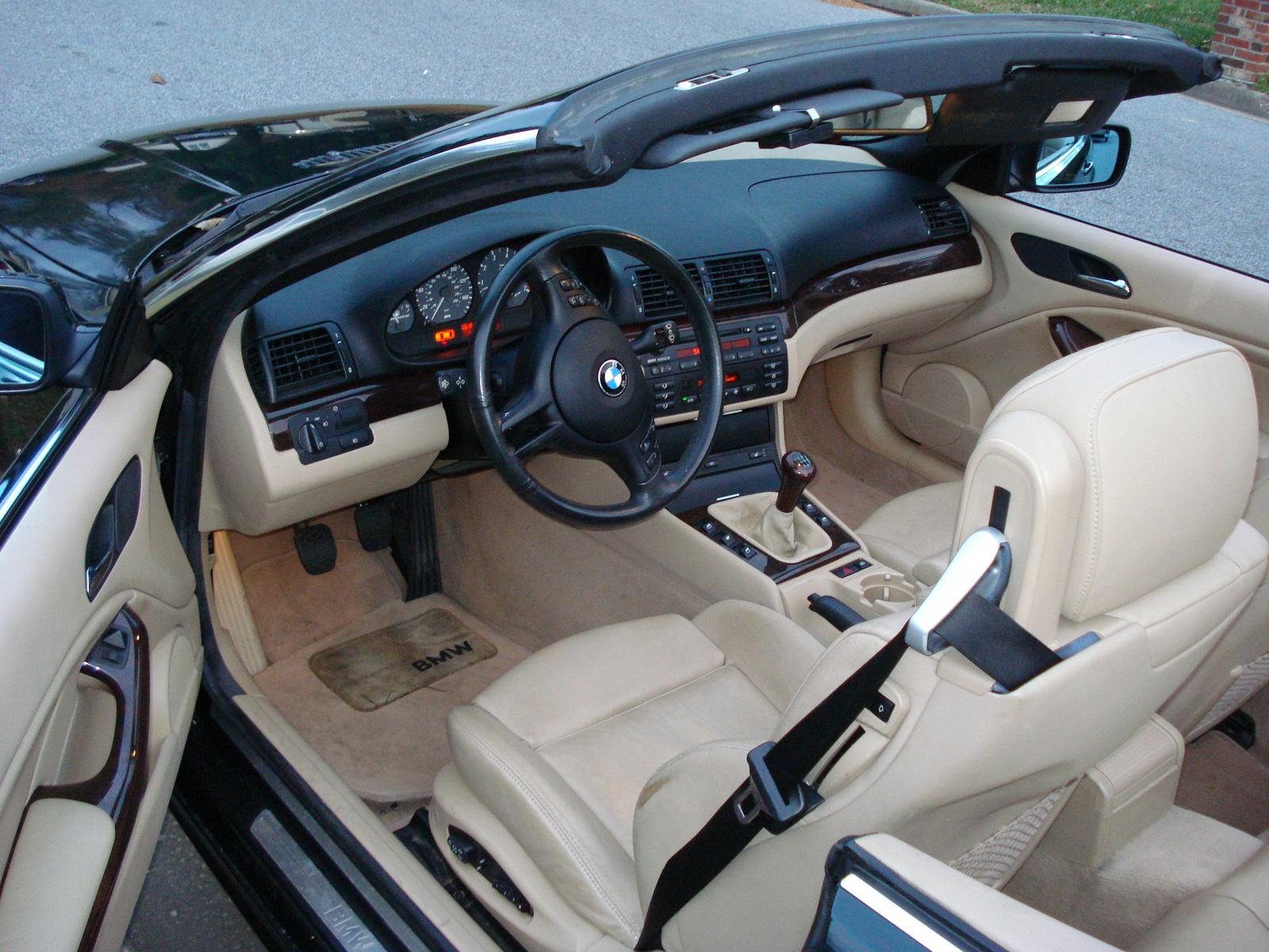 2002 Bmw 330ci Convertible Interior Car Interior Design